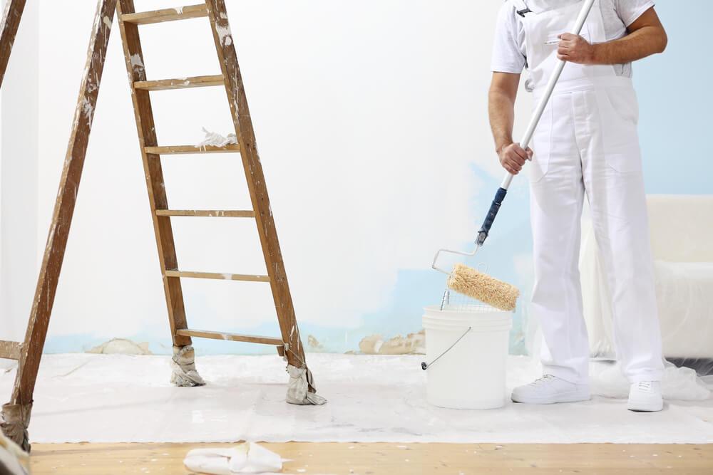 Schilder aan de slag, kosten van een vloer afplakken?